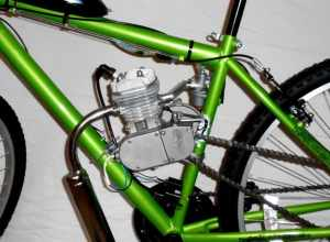 Ruby Red 6680cc Bike Engine Kit   Bicycle Motor Works