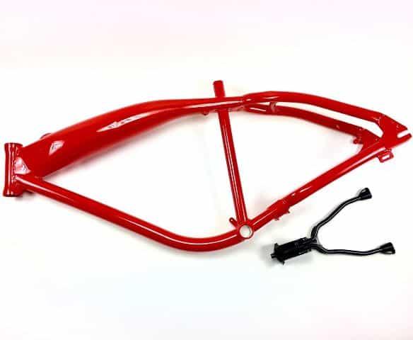 Red Felt Phantom Faker Frame