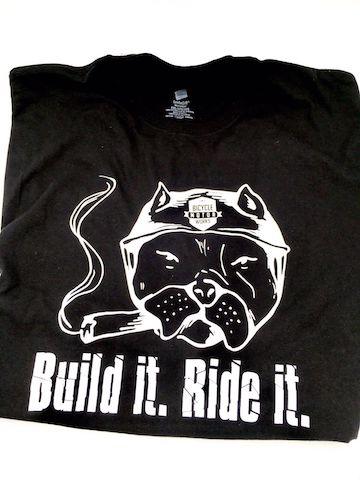 Bicycle Motor Works T-shirt