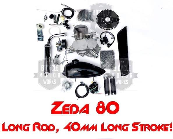Zeda Silver Engine Kit 1
