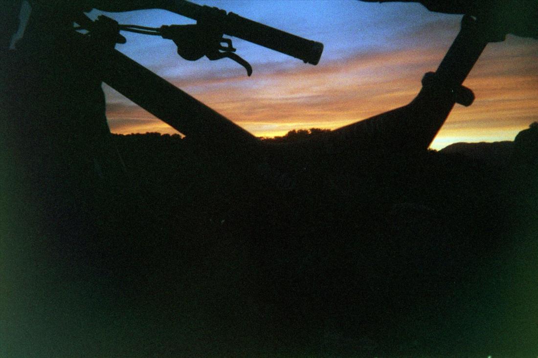 Long days in the desert make for some killer sunsets.