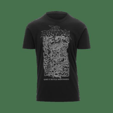 giro x bicycle nightmares metal t-shirt