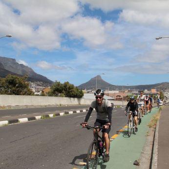 Albert Road Cycle lane