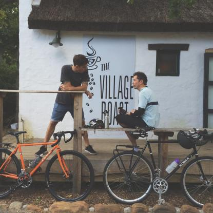 Village Roast-cyclists
