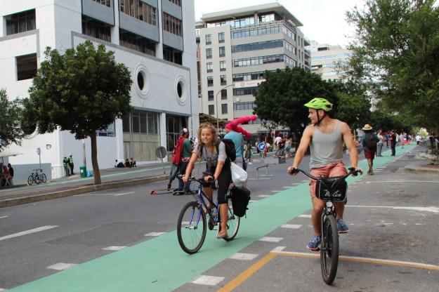 Bree Street cycle lane