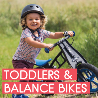 TODDLERS & BALANCE BIKES (2-4yrs)