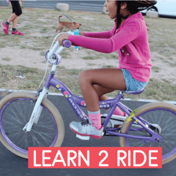 TEACH YOUR KID 2 RIDE A PEDAL BIKE (+4 yrs)
