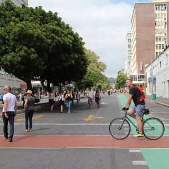 Bree Street Cycle Lane