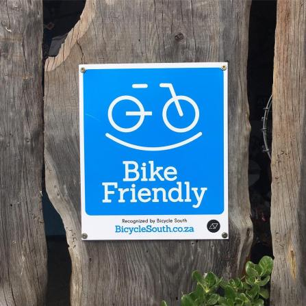 Bike Friendly Sign Outdoor