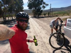 Road beers as hydration for the final 5 kilometres.