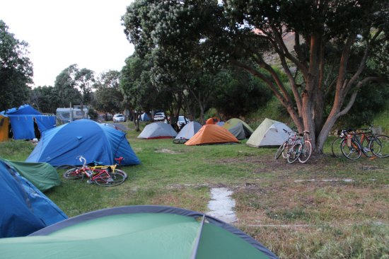 A Cyclist's Only Campsite!