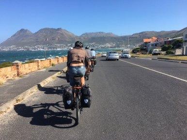 The long windy ride along the coast