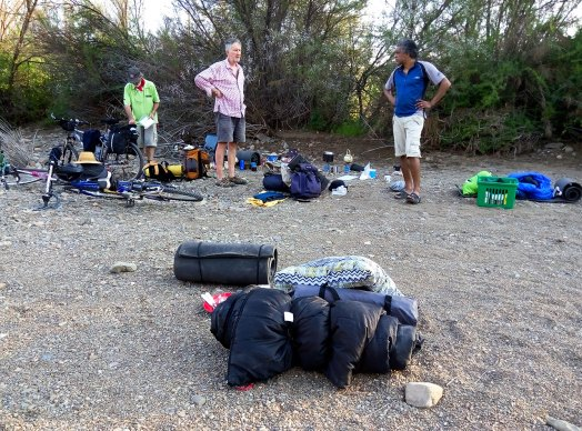 Day 1 - Wild camping