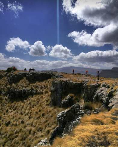 Hiking the Simien National Park
