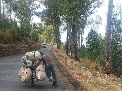 On the road, Kigali, Rwanda