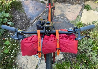 """25"""" Voile Strap securing tent"""