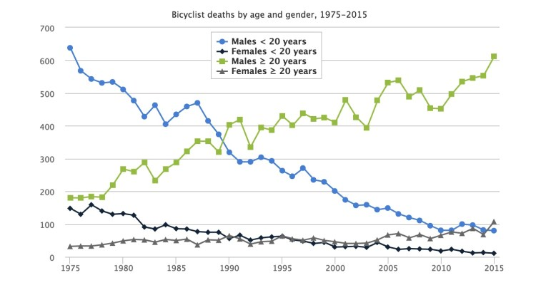 Bicycle Helmet Statistics