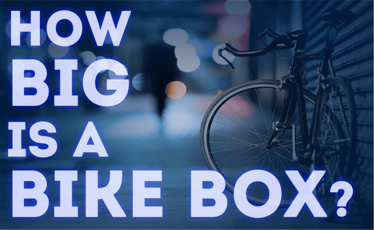 How big is a bike box?