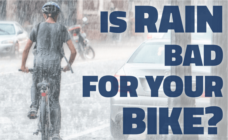 Is rain bad for your bike?