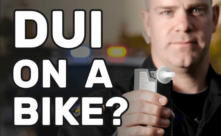 DUI on a Bike?