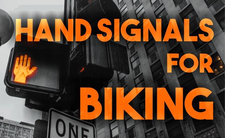 Hand Signals for Biking
