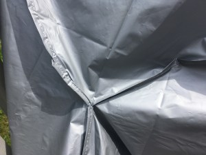 bike cover - stitched material