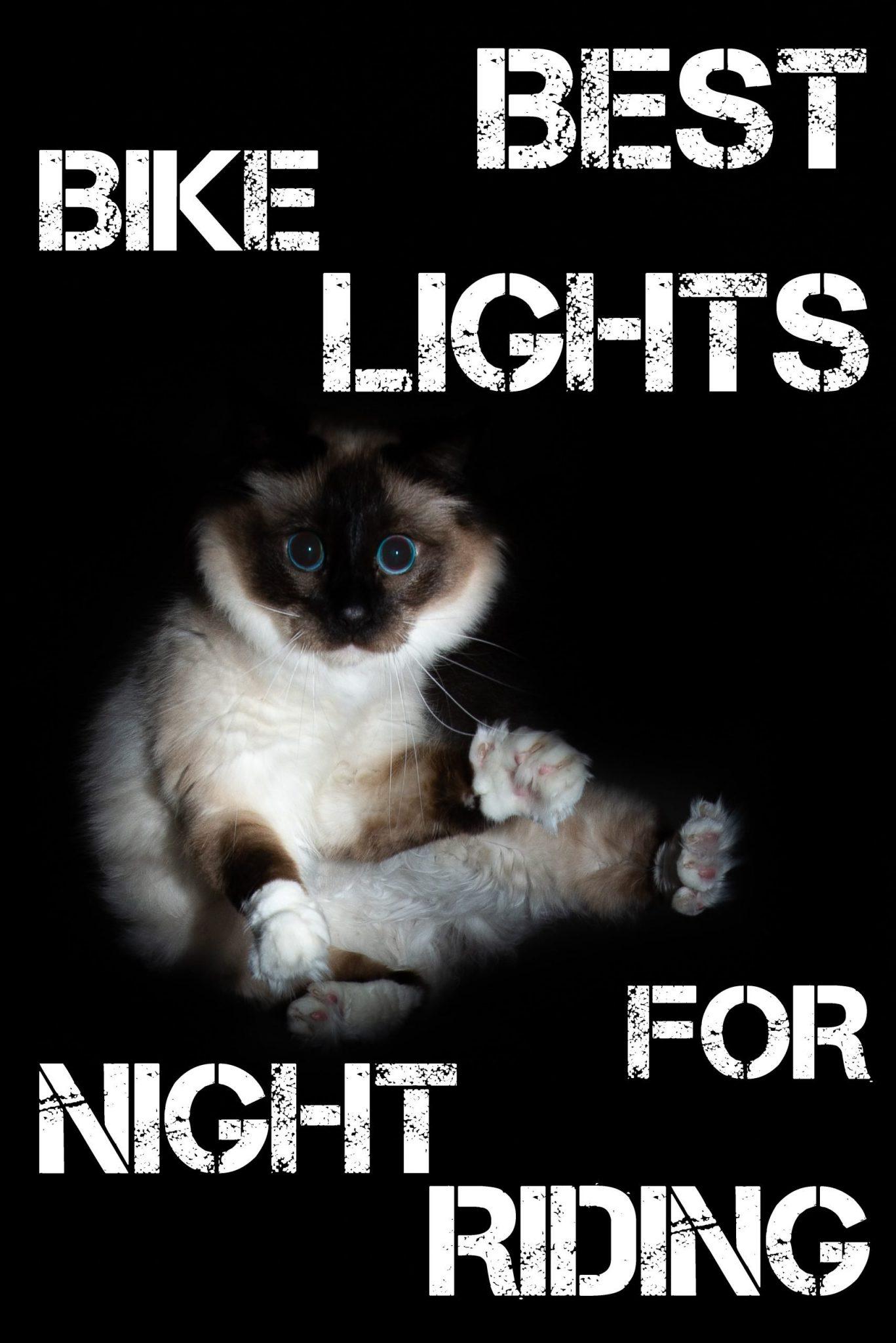Best Bike Lights For Night Riding