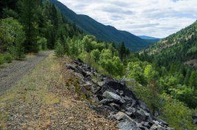 columbia & western rail trail, before the 30km downhill