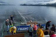 four hour boat trip from port alberni to ucluelet
