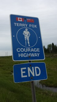 Terry Fox highway Ends