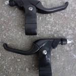 Unused Campagnolo Centaur Graphite two finger cantilever brake lever