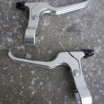 Real Designs RBL 900 cantilever brake levers in silver