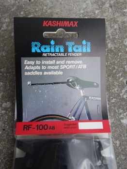 Kashimax Rain Tail pull out mudguard