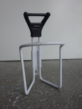 New old stock T.A France 417 model bottle cage in white