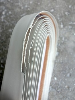 Bike Ribbon of Italy Grip bar tape in matt grey