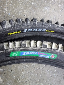 "Pair of Panaracer Smoke and Dart 26"" MTB tyres"