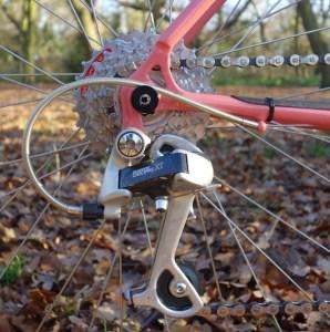 Anatomy of a vintage mountain bike - gearing