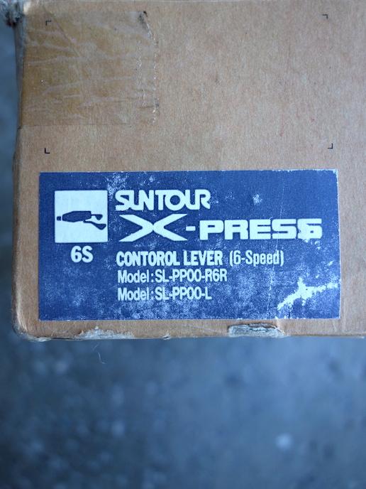 Suntour XC Pro X-Press accushift shifters for 6 x 3 MTB