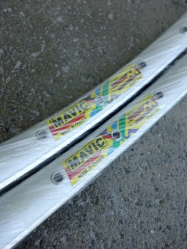 "Mavic M231 rims – 26"" for vintage mountain bikes"