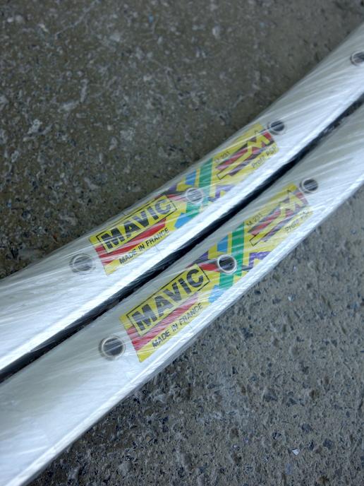 """Mavic M231 rims – 26"""" for vintage mountain bikes"""