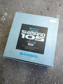 Shimano 105 HG UG hub set with cassette