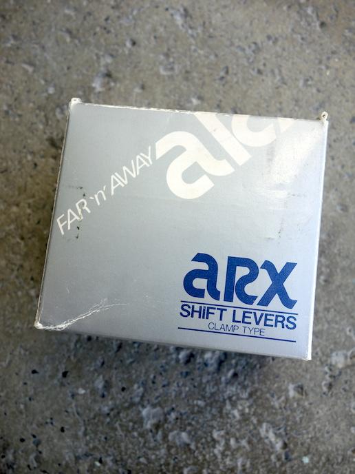 Suntour ARX clamp on shifters
