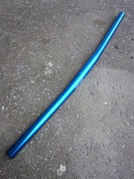 Tioga blue flat bar for MTB