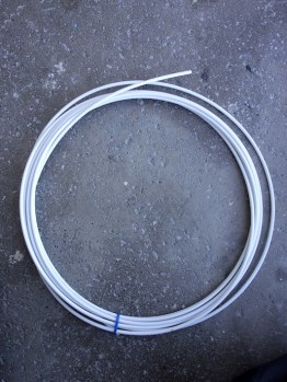 Shimano SIS SP gear outer cable - white