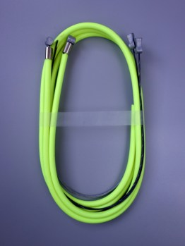 Casiraghi MTB brake cable sets – Neon yellow