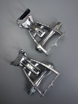 Maillard CXC 550 pedals with mini toe clips