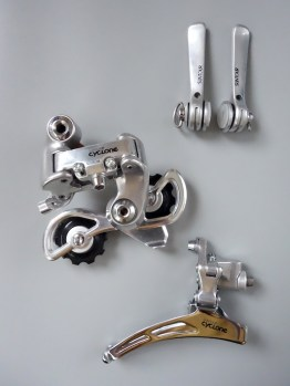 Suntour Cyclone mini groupset