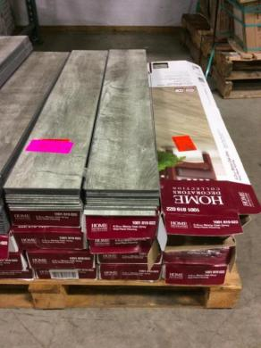 Approx  240 SQ FT Stony Oak Grey Vinyl Plank Flooring 240 SQ FT Stony Oak Grey Vinyl Plank Flooring
