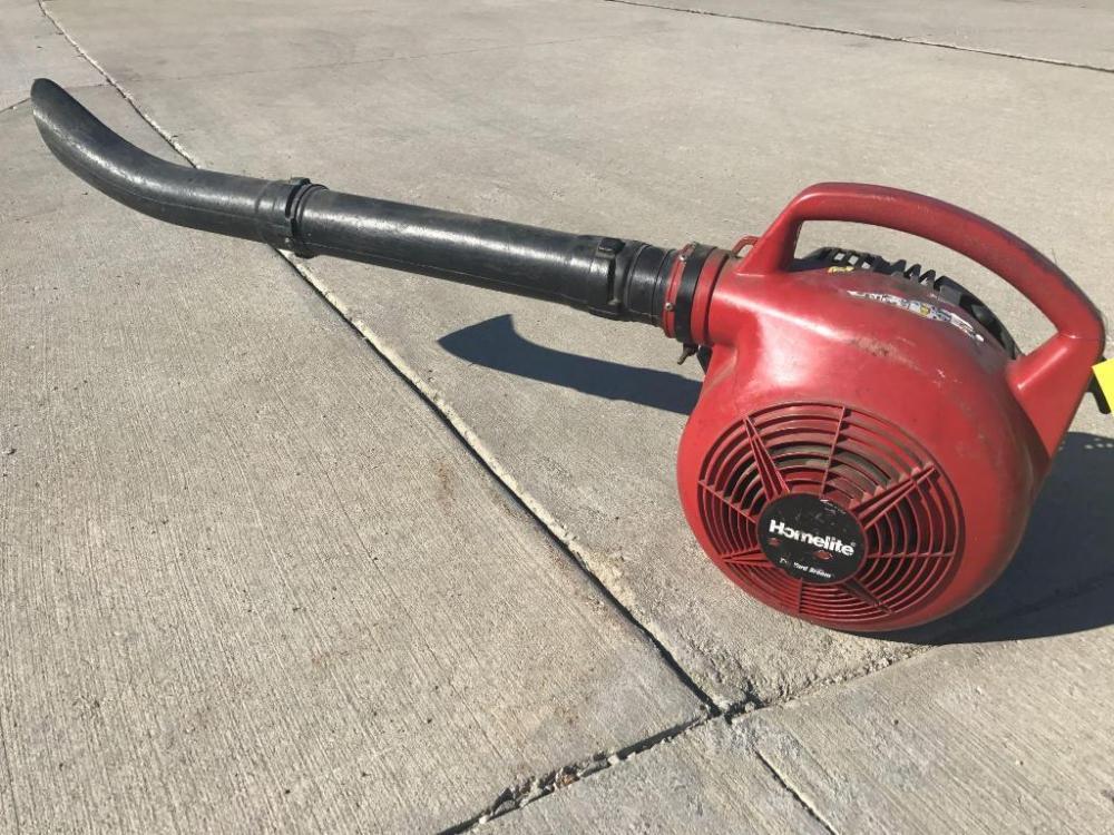 Lot 5253homelite Yard Broom Gas Powered Blower