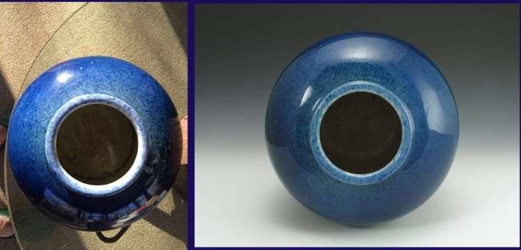 Mouth Rim Chinese Ming Dynasty Cobalt Guan Jar